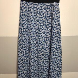 Pineapple Maxi Skirt